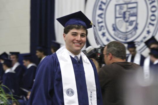 Ben at graduation