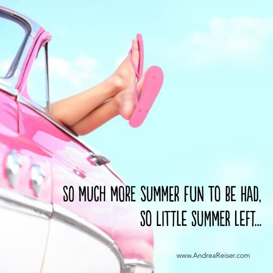 So Little Summer Left