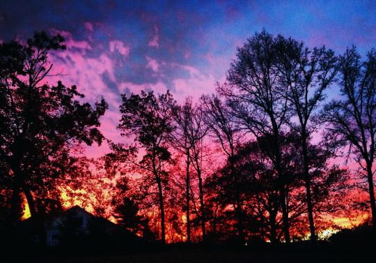 Autumn Sunset - Version 4