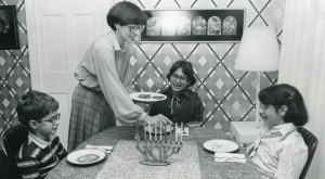From a 1978 photo shoot for a Providence Sunday Journal article about celebrating the holidays