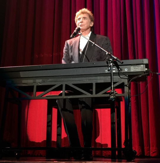 Barry Manilow June 2015 Barclays
