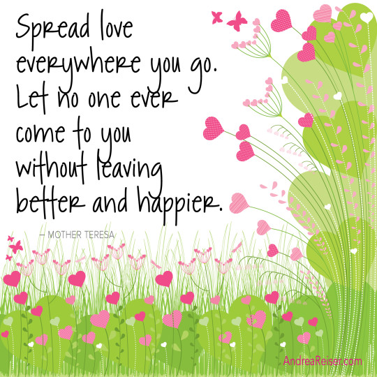 Spread Love Everywhere You Go