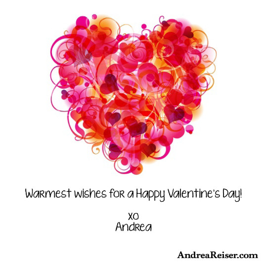 Warmest wishes for a Happy Valentine's Day!