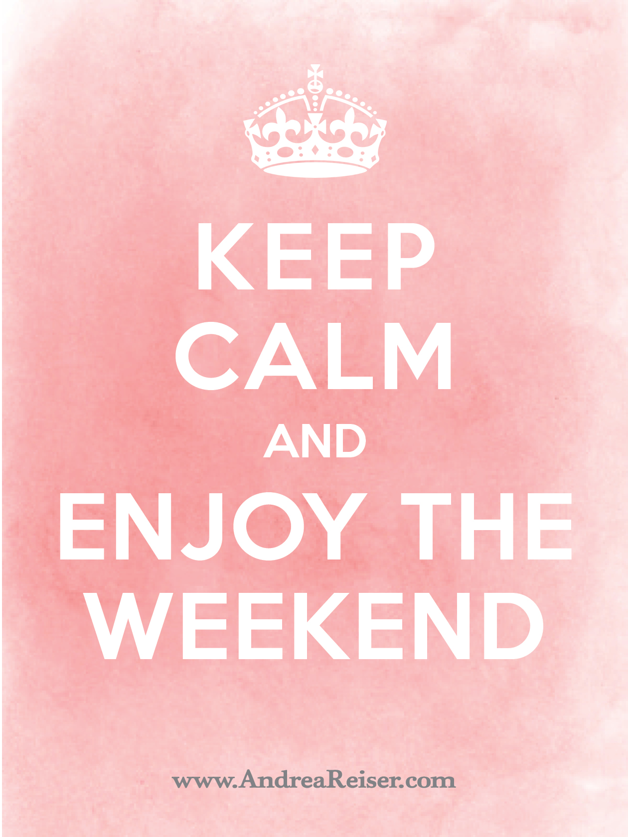 Keep Calm Enjoy Weekend 2 on Writing Letters