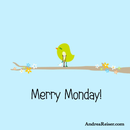 Merry Monday (little birdie)